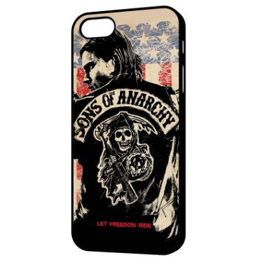 Capa para Celular Sons of Anarchy - Let Freedom Ride Iphone 4