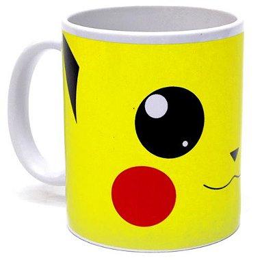 Caneca Porcelana 330ml Pikachu