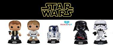 Funko Pop - Star Wars - Luke Skywalker ou Darth Vader ou Clone Trooper ou R2 - D2 Luke Skywalker