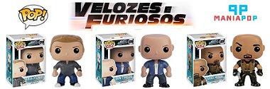 Funko Pop - Velozes e Furiosos - Brian OConner ou Dom Toretto ou Luke Hobbs Dom Toretto