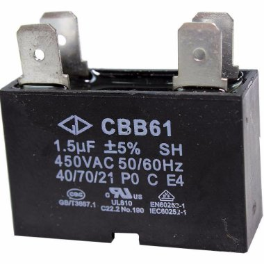 Capacitor Ar Condicionado 4 uf Cbb61