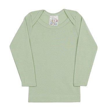 Blusa Manga Longa Verde