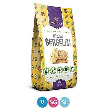 Biscoito de Gergelim - Sem Glúten - Santulana - 100g