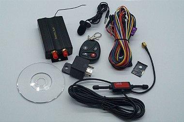 Rastreador Gps Bloqueador Veicular Tk - 103b Controle Remoto