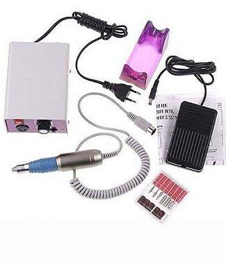 Lixa Elétrica Unhas P / Acrigel Porcelana Gel Etc... com Pedal