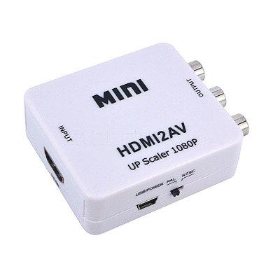 Mini Adaptador Conversor De HDMI p / VGA - Xbox / PS3