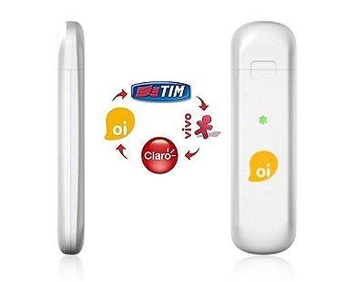 Modem 3G Desbloqueado Oi Tim Vivo Claro Telsec TS - 991 Anatel