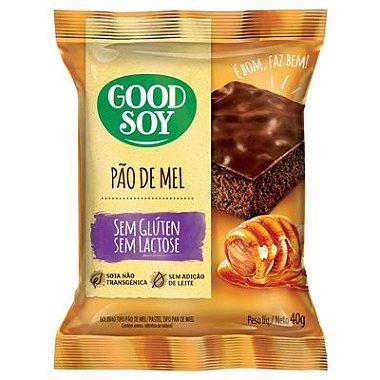 Pão de Mel Good Soy sem gluten sem lactose 40gr