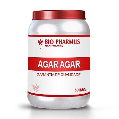 Emagrecedor Bio Pharmus Agar Agar 500 mg 120 Cápsulas