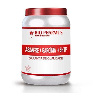 Emagrecedor Bio Pharmus Assafre 100mg + Garcínia 500mg + 5HTP 50mg 120 Cápsulas
