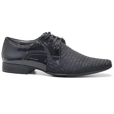Sapato Calvest 2250B837 Social Masculino Preto 38