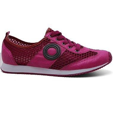 Tênis Moleca 5612.100 Feminino Violeta Pink 34