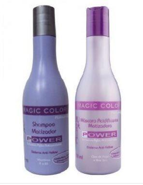 Kit Shampoo Magic Color+Máscara Power 250 ml