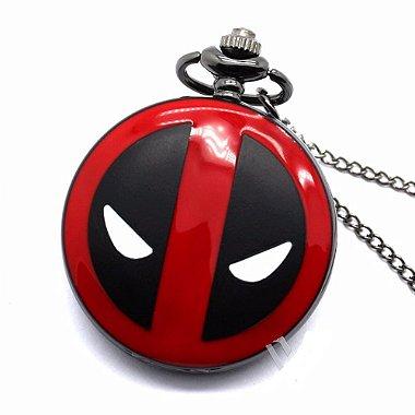 Relógio de Bolso - Deadpool