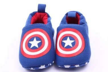 Sapatinho Bebê - Capitão América 6 à 9 meses