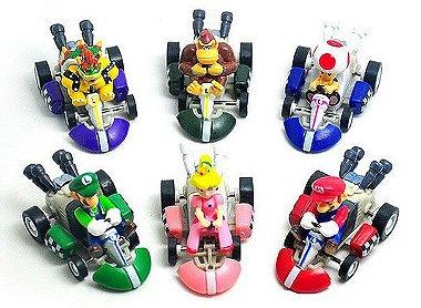 Coleção Miniaturas Mario Kart