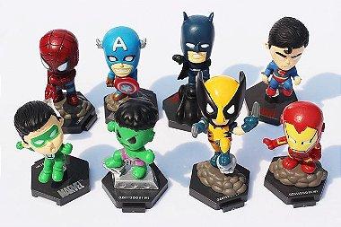 Coleção Miniaturas Super Heróis ( Unidade ) Hulk