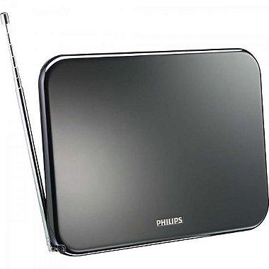 Antena Digital Amplificada VHF / UHF / FM SDV7225T / 55 PHILIPS