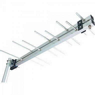 Antena Externa Log Periódica UHF 9dBi LU8 AQUÁRIO