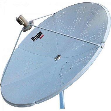 Antena Parabólica Banda C / KU BE - 1,5M BEDINSAT