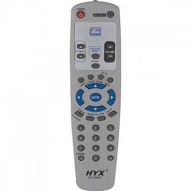 Controle Remoto para TV GRADIENTE FM CTV - GRA01 Cinza HYX