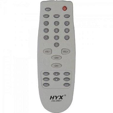 Controle Remoto para Receptor ORBISAT CRS - ORB01 Branco HYX
