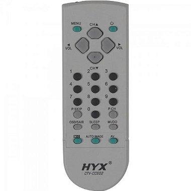 Controle Remoto para TV CCE CTV - CCE02 Cinza HYX