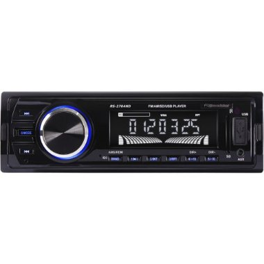 Auto Rádio USB / SD / AUX / MP3 / FM / AM RS - 2704ND Preto ROADSTAR