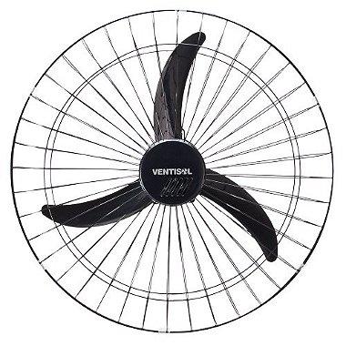 Ventilador de Parede Oscilante 60cm 220V NEW Preto VENTISOL