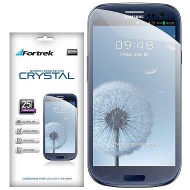 Película Protetora para Samsung Galaxy S3 Mini GSP - 102E Crystal FORTREK