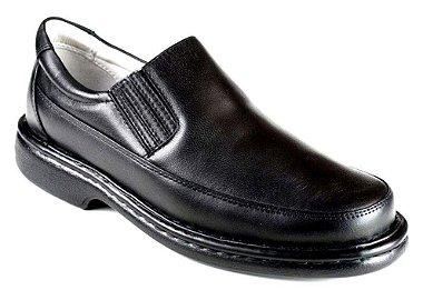 Sapato Preto Masculino Confortável Antistress Preto