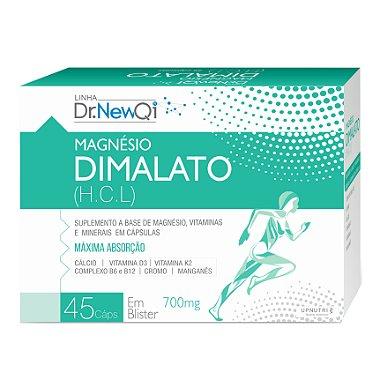 Magnesio Dimalato com Vitaminas 45 Caps 700mg - Dr NewQi