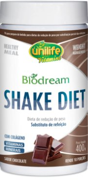 Biodream Shake Diet Sabor chocolate 400g - Unilife