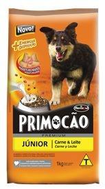 Ração Hercosul Primocão Premium Júnior para Cães Filhotes - Carne e Leite 1kg