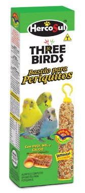 Three Birds Bastão Periquitos - 60g