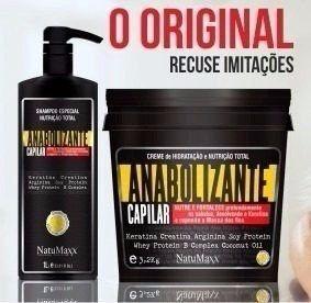 Natumaxx - Kit Anabolizante Shampoo 1l + Máscara 1 kg