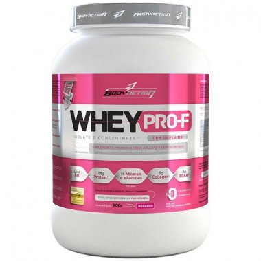 Whey Pro - F Isolate & Concentrate ( 900g ) - Body Action