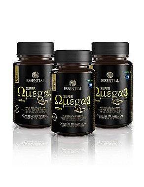 Super Omega 3 tg - Essential Sem Sabor 90caps