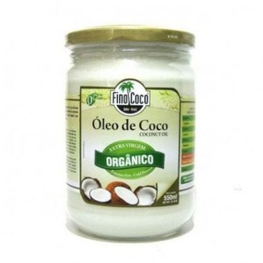 Óleo de Coco Extra Virgem Orgânico - Finococo Natural 350ml