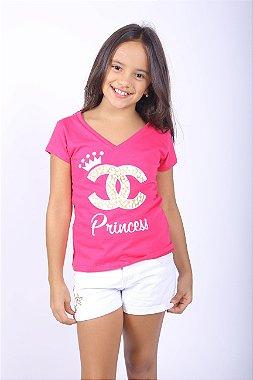 Camiseta Infantil Rainha 2