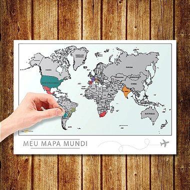 Mapa Mundi Raspadinha Premium
