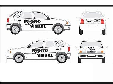 Adesivos para personalização de veículos