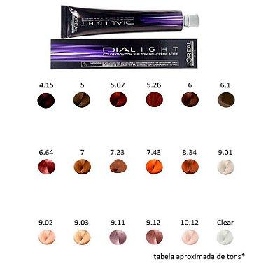L ´ Oréal Professionnel - Dialight Tonalizante diversas cores 5 Castanho Claro
