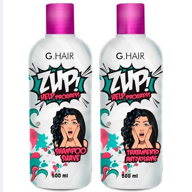 G. Hair - ZUP ! Help Progress Escova Progressiva 2 passos 500ml