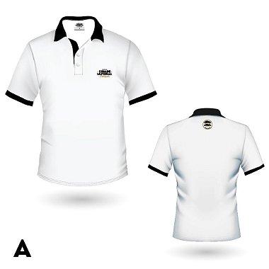 Camiseta MASCULINA Polo Cerveja Cidade Imperial Preta ou Branca Bordado - 5 Modelos E