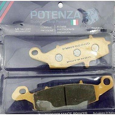 Pastilha de Freio Ponteza PTZ231FL D Dir: V - Strom 650 / 1000 04 - 13 - GS500 - Bandit 650 05 / 09 - Versys 10 / 13 - ER6N 06 / 13