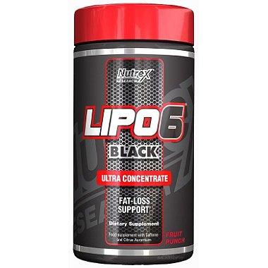 Lipo 6 Black Powder ( Em pó 120g ) - Nutrex