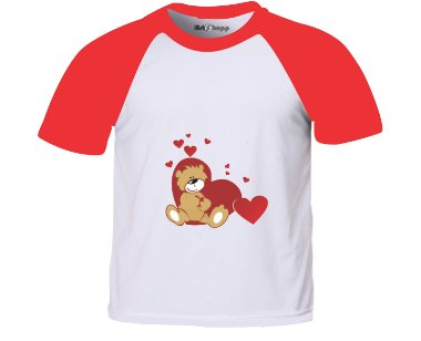 Camiseta infantil animais 2 Green