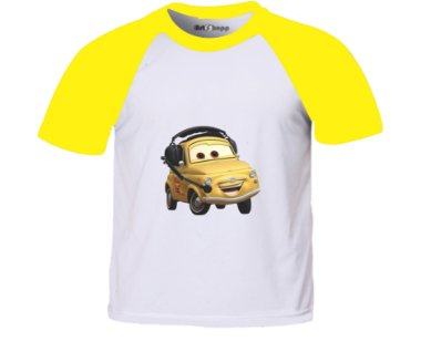 Camiseta infantil carros Green