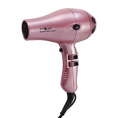 Mega Secador de Cabelo Nano 3600 2100W - Pink